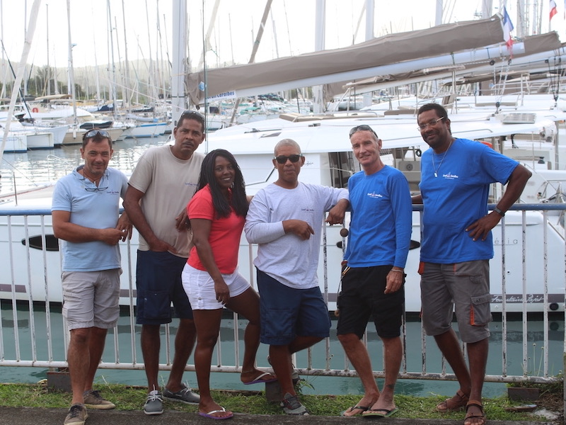 Equipe-Martinique-Corail-Caraibes