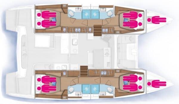 Plan-Lagoon-46-Fly-Corail-Caraibes
