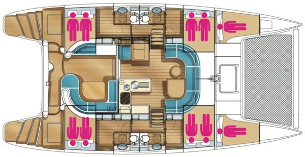 Plan-du-Nautitech-441-Corail-Caraibes